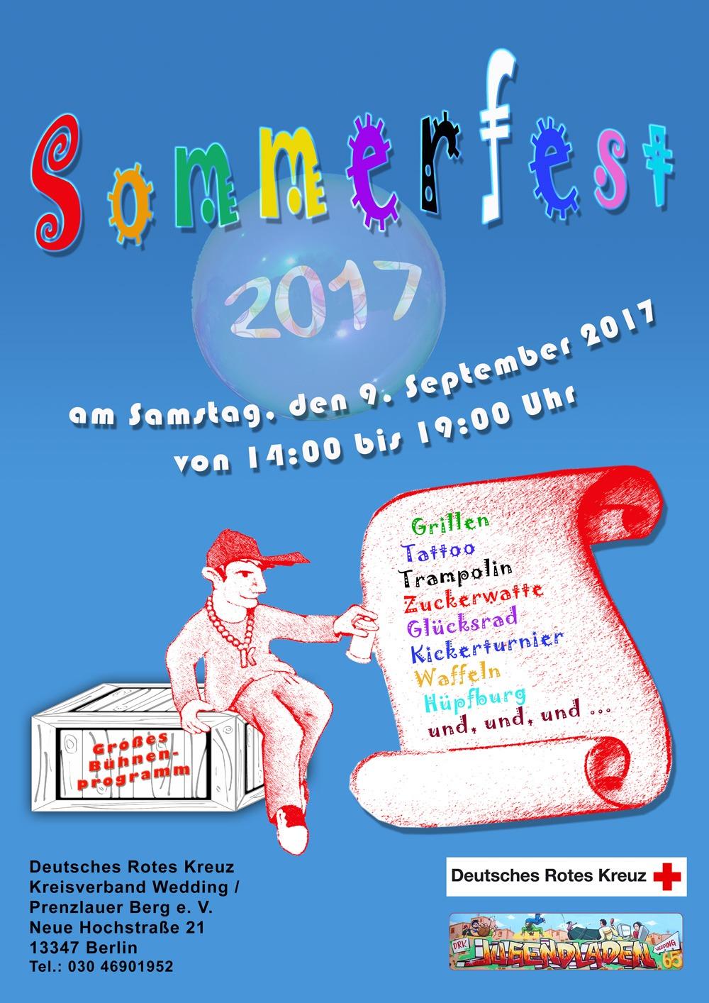 Einladung zum Sommerfest 2017